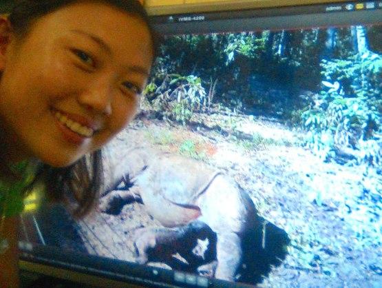 rhino calf wefie copy